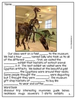 Context Clues in Paragraphs Using Real Photos-Answer Key-No Prep