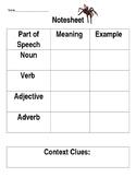 Context Clues & Parts of Speech
