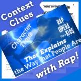 Context Clues Fiction Passage Questions Superhero Reading