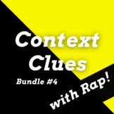 Context Clues Passages with Worksheets Using Rap Songs