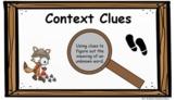 Context Clues Pear Deck Google Slides Presentation - REMOT