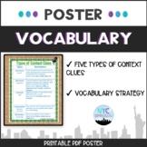 Context Clues Poster