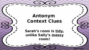 Context Clues Posters