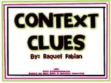 Context Clues Posters (Common Core - ELA L.2.4)