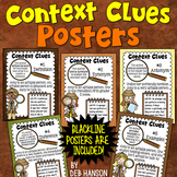 Context Clues Posters (4th, 5th, and 6th grade)