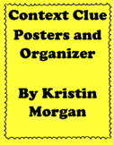 Context Clues Posters and Organizer