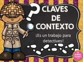 Context Clues Power Point in Spanish
