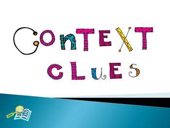 Context Clues PowerPoint Presentation {Common Core Aligned}