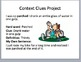 Context Clues PowerPoint, Project, and Stations