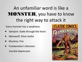 An Unfamiliar Word is Like a MONSTER; Context Clues