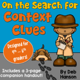 Context Clues PowerPoint (4th, 5th, 6th grade) Distance Learning