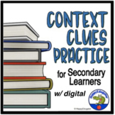 Context Clues Worksheets - Middle School & High School Dis