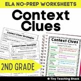 Context Clues Common Core NO PREP Practice Sheets