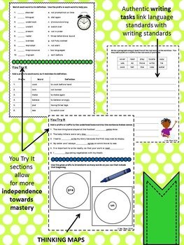 Context Clues, Prefixes, Root Words, Compound Words, & Dictionaries