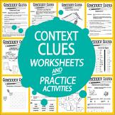 Context Clues Worksheet Bundle – 29 Worksheets & Context Clues Activities (3-6)