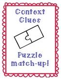 Context Clues Puzzle Match-up