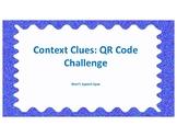 Context Clues: QR Code Challenge