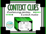 Context Clues- QR Listening Center and Work Mats