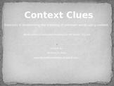 Context Clues: RBI Instructional Tool