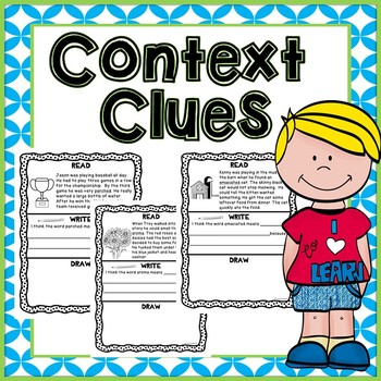 Context Clues Read - Write  - Draw