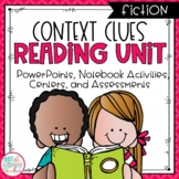 Context Clues Fiction Reading Unit With Centers