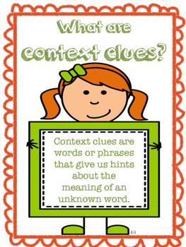 Context Clues Reference Posters