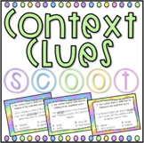 Context Clues SCOOT! Game, Task Cards or Assessment