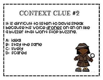 Context Clues. - Scoot