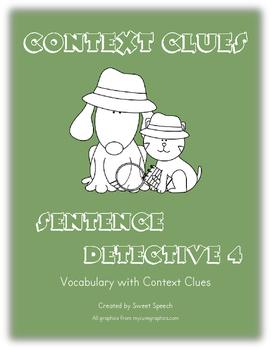 Context Clues: Sentence Detective 4