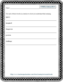Context Clues and Robust Vocabulary Reading Selection and Questions