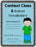Context Clues and Robust Vocabulary Reading Selection and