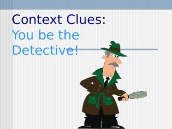Context Clues Smartboard Lesson