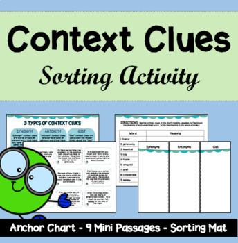 Context Clues Sorting Activity
