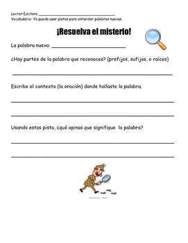 Context Clues- Spanish