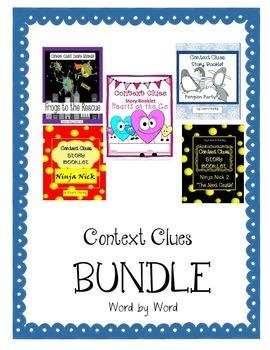 Context Clues Story Booklet BUNDLE
