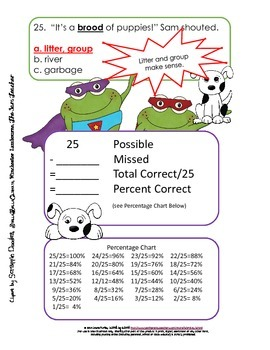 Context Clues Story Booklet Frogs to the Rescue!