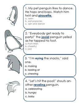 Using Context Clues Worksheet Plus Awesome Context Clues ...