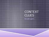 Context Clues Strategies and Practice