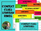 Context Clues Strategy Rings