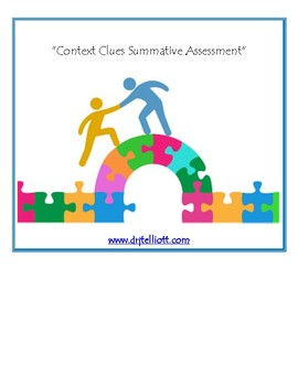 Context Clues Summative Assessment