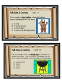 Context Clues-Talk Like A Cowboy