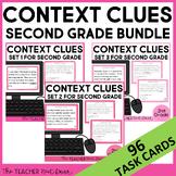 Context Clues Task Card Bundle for 2nd Grade | Context Clues Centers