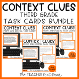 Context Clues Task Card Bundle for 3rd Grade