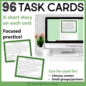 Context Clues Task Card Bundle for 6th Grade
