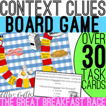 Context Clues Task Card Game