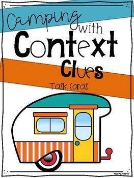 #summer2017 Context Clues Task Cards