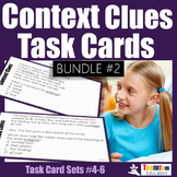 Context Clues Task Cards Bundle 2