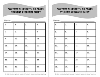 Context Clues Task Cards Bundle: 2 SETS of Vocabulary Building Cards