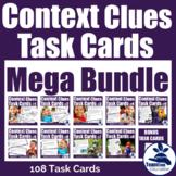 Context Clues Task Cards Mega Bundle