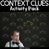 Context Clues Task Cards - SCOOT - Content Area Words and